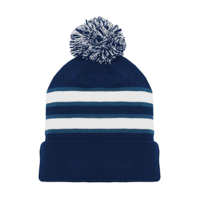 A1830-595 Winnipeg Jets Blank Hockey Beanie Hat