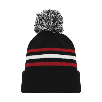 A1830-614 Chicago Blackhawks Blank Hockey Beanie Hat