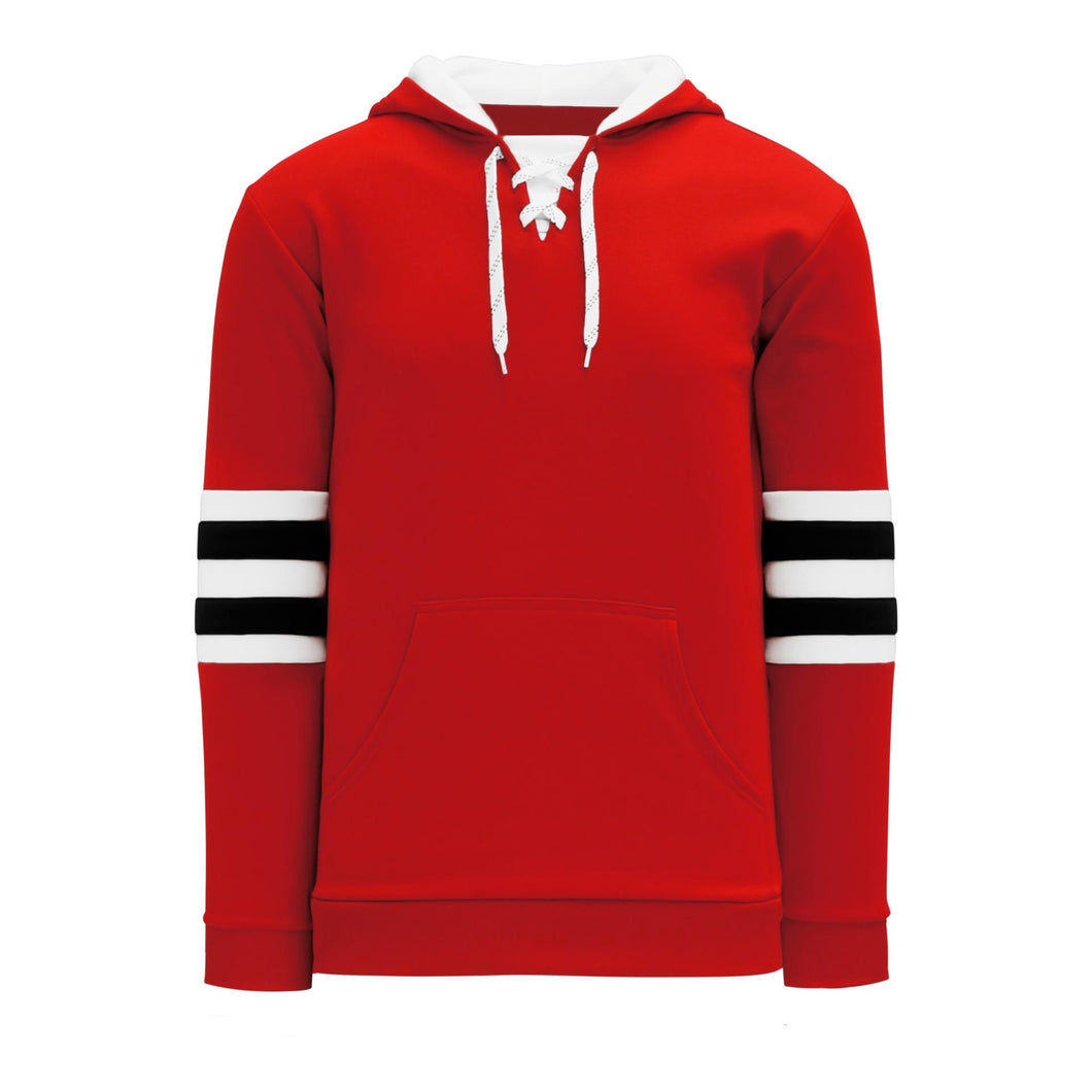 A1845-304 Chicago Blackhawks Blank Hoodie Sweatshirt