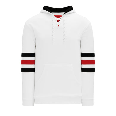A1845-305 Chicago Blackhawks Blank Hoodie Sweatshirt