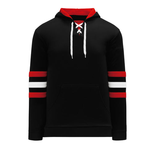 A1845-614 Chicago Blackhawks Blank Hoodie Sweatshirt
