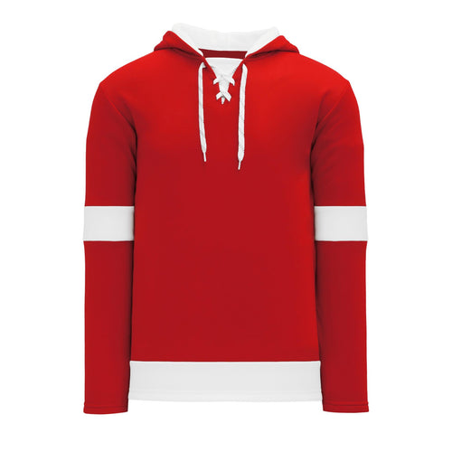 A1850-202 Detroit Red Wings Blank Hoodie Sweatshirt