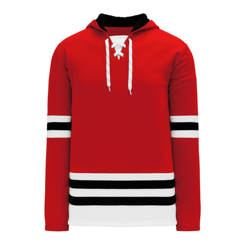 A1850-304 Chicago Blackhawks Blank Hoodie Sweatshirt