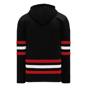 A1850-614 Chicago Blackhawks Blank Hoodie Sweatshirt