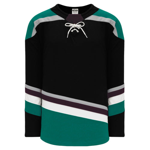 H550B-ANA496B Anaheim Ducks Blank Hockey Jerseys