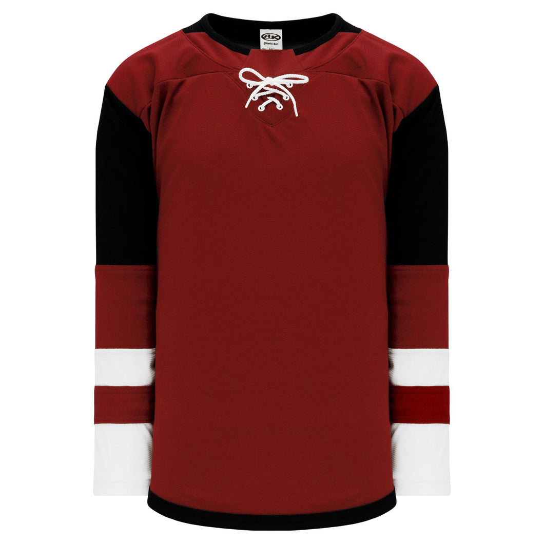 H550B-ARI888B Arizona Coyotes Blank Hockey Jerseys