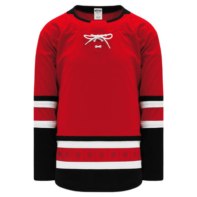H550B-CAR532B Carolina Hurricanes Blank Hockey Jerseys