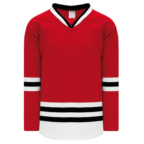 H550B-CHI364B Chicago Blackhawks Blank Hockey Jerseys