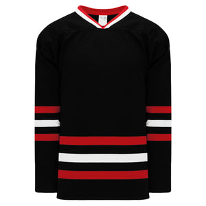 H550B-CHI614B Chicago Blackhawks Blank Hockey Jerseys