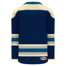 H550B-CLM373B Columbus Blue Jackets Blank Hockey Jerseys