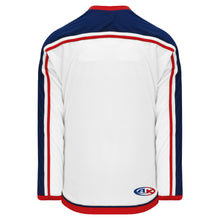 H550B-CLM891B Columbus Blue Jackets Blank Hockey Jerseys