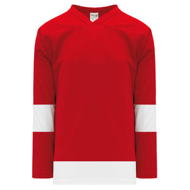 H550B-DET202B Detroit Red Wings Blank Hockey Jerseys