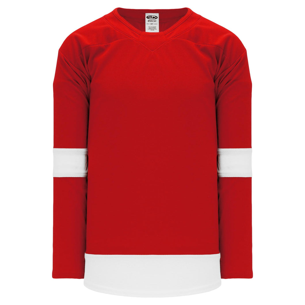 H550B-DET755B Detroit Red Wings Blank Hockey Jerseys