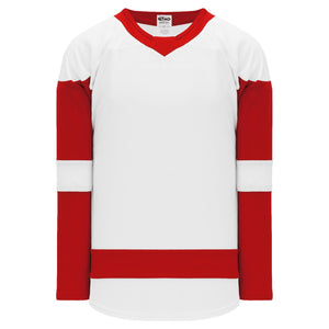 H550B-DET756B Detroit Red Wings Blank Hockey Jerseys