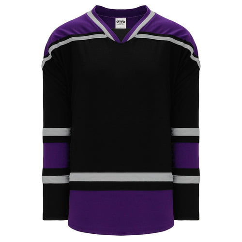 H550B-LAS880B Los Angeles Kings Blank Hockey Jerseys