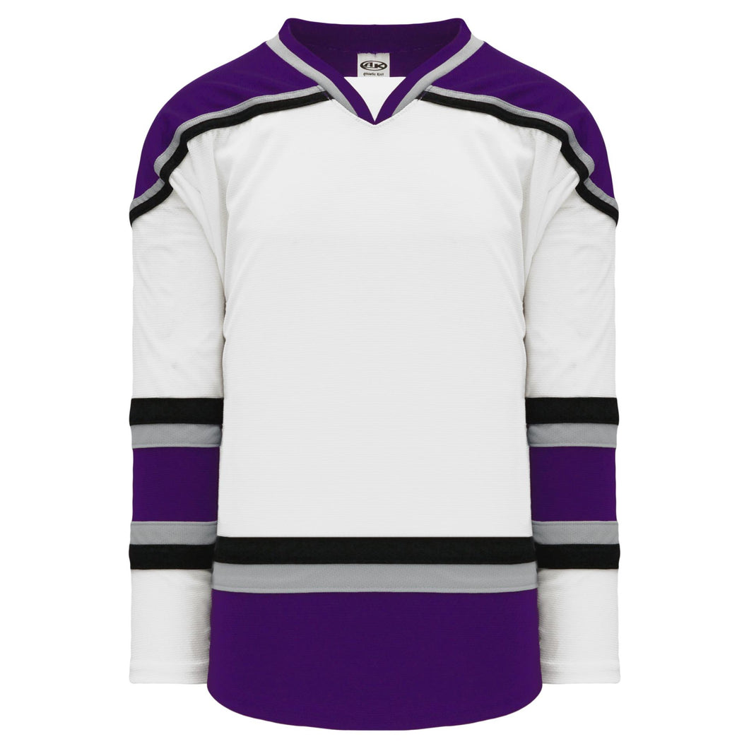 H550B-LAS881B Los Angeles Kings Blank Hockey Jerseys
