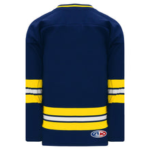 H550B-MIC589B University of Michigan Blank Hockey Jerseys