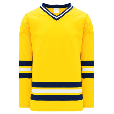 H550B-MIC590B University of Michigan Blank Hockey Jerseys