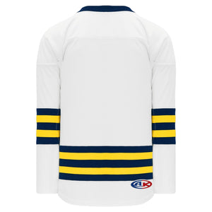 H550B-MIC789B University of Michigan Blank Hockey Jerseys