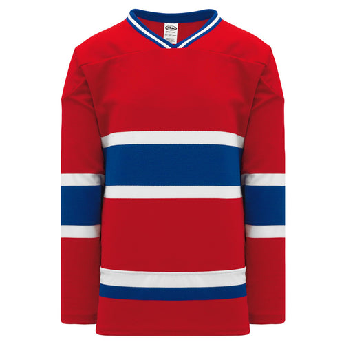 H550B-MON308B Montreal Canadiens Blank Hockey Jerseys