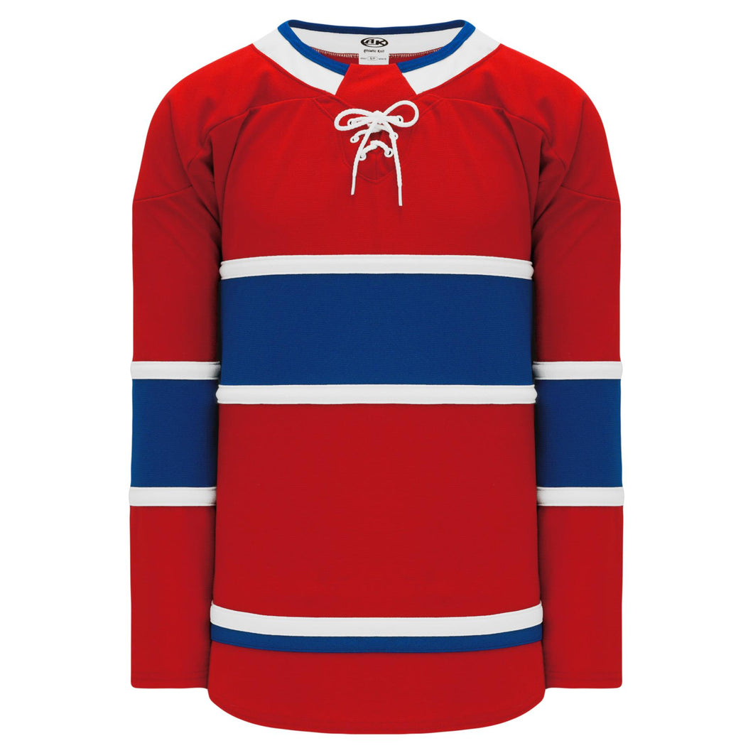 H550B-MON782B Montreal Canadiens Blank Hockey Jerseys
