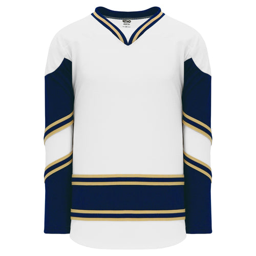 H550B-NDA678B University of Notre Dame Blank Hockey Jerseys