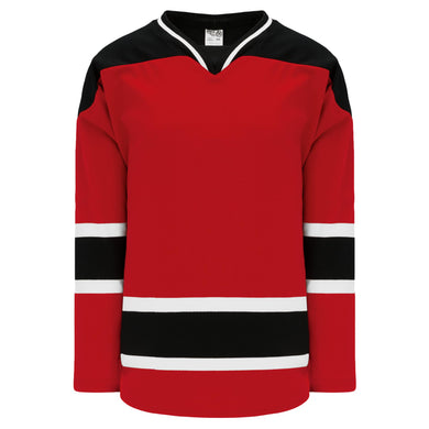 H550B-NJE566B New Jersey Devils Blank Hockey Jerseys