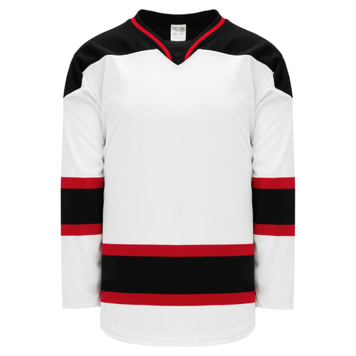H550B-NJE567B New Jersey Devils Blank Hockey Jerseys