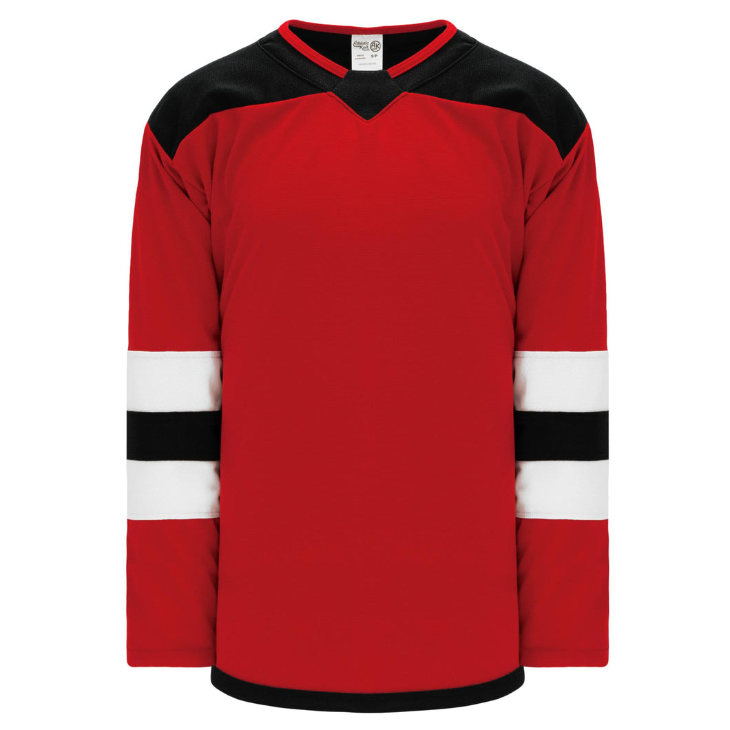 H550B-NJE866B New Jersey Devils Blank Hockey Jerseys