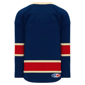H550B-NYR868B New York Rangers Blank Hockey Jerseys