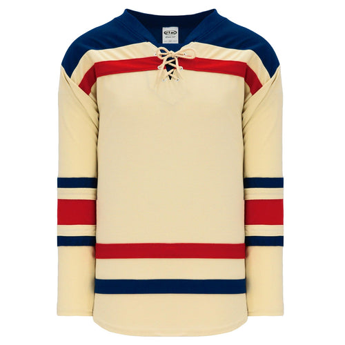H550B-NYR869B New York Rangers Blank Hockey Jerseys