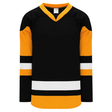 H550BK-PIT816BK Pittsburgh Penguins Blank Jerseys