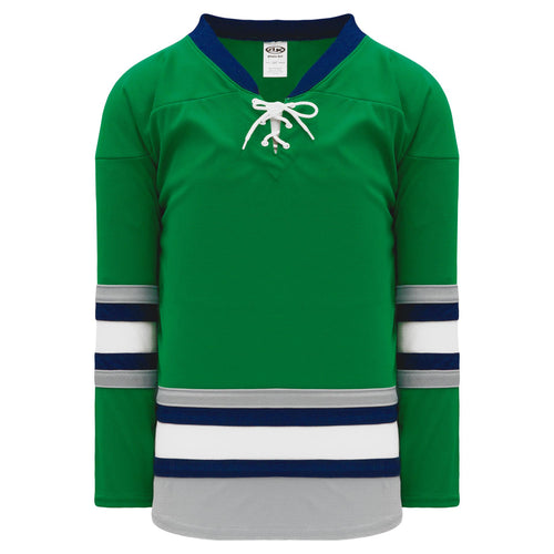 H550B-PLY843B Plymouth Whalers Blank Hockey Jerseys