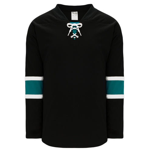 H550B-SAN634B San Jose Sharks Blank Hockey Jerseys