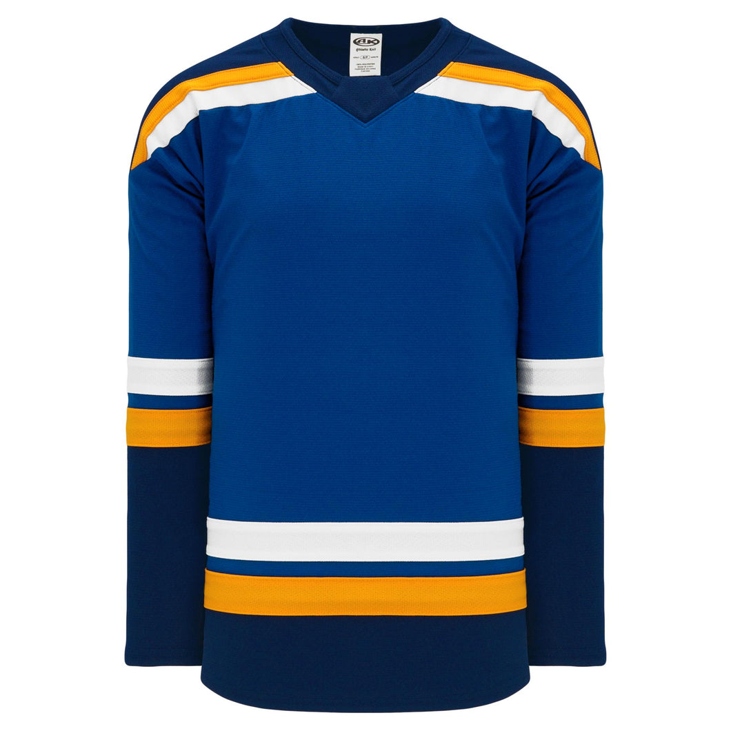 H550B-STL857B St. Louis Blues Blank Hockey Jerseys