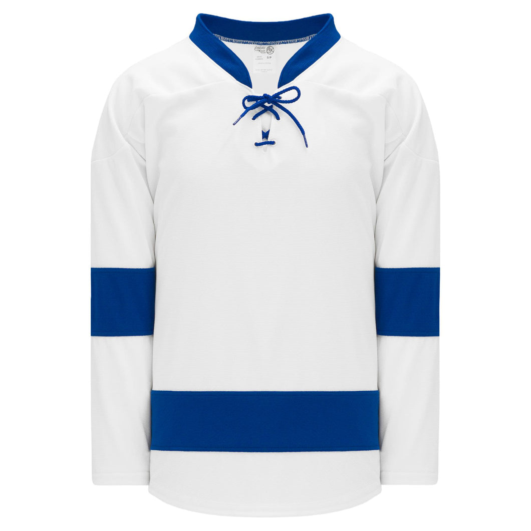 H550B-TAM489B Tampa Bay Lightning Blank Hockey Jerseys