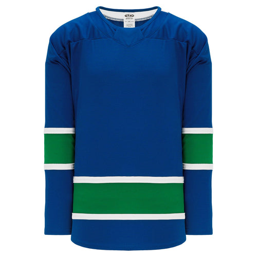 H550B-VAN378B Vancouver Canucks Blank Hockey Jerseys