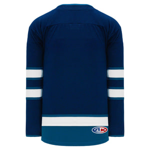 H550B-WIN724B Winnipeg Jets Blank Hockey Jerseys