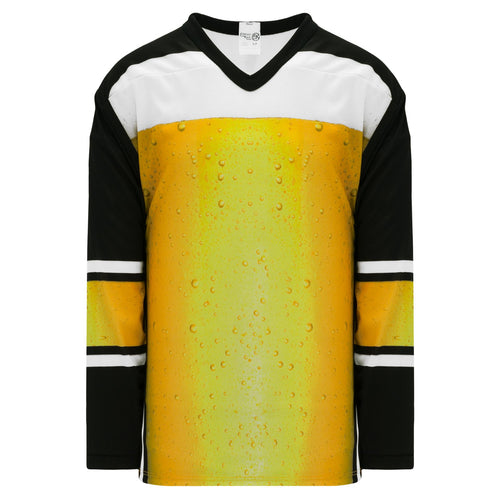 H550C-ALE775C Beer Glass Blank Hockey Jerseys