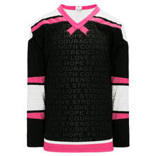 H550C-BCA773C Breast Cancer Awareness Blank Hockey Jerseys