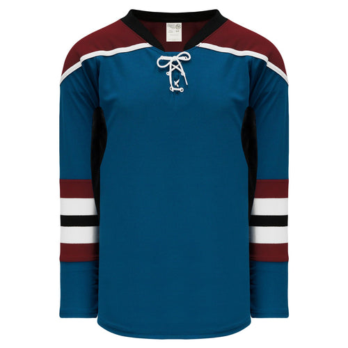 H550C-COL645C Colorado Avalanche Blank Hockey Jerseys