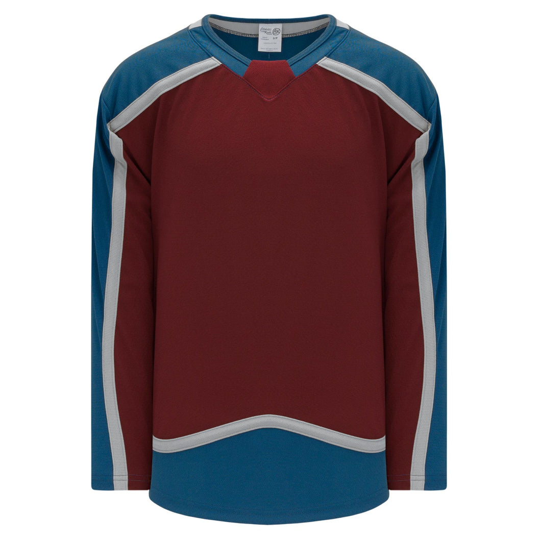 H550C-COL784C Colorado Avalanche Blank Hockey Jerseys