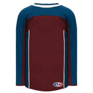 H550C-COL804C Colorado Avalanche Blank Hockey Jerseys