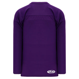 H6000-010 Purple Practice Style Blank Hockey Jerseys