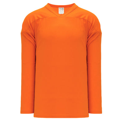 H6000-064 Orange Practice Style Blank Hockey Jerseys