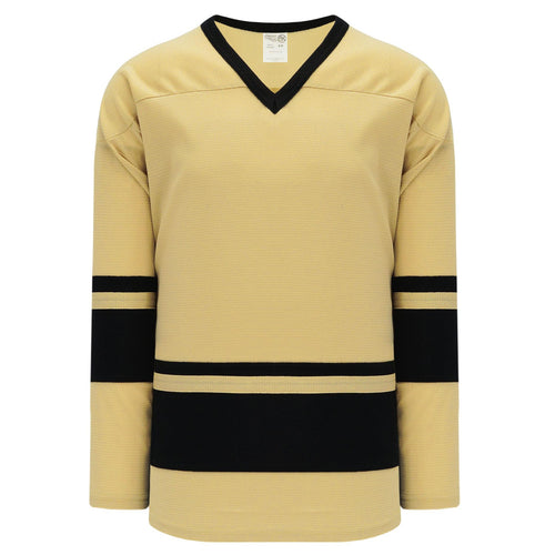 H6400-282 Vegas/Black League Style Blank Hockey Jerseys