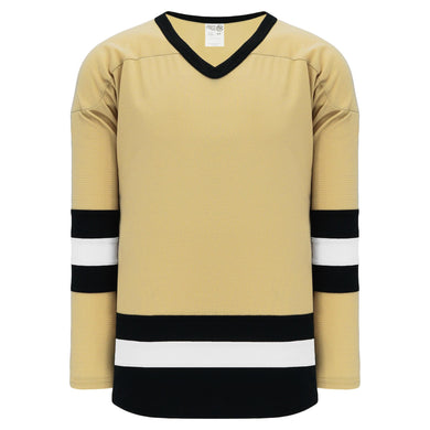 H6500-281 Vegas/Black/White League Style Blank Hockey Jerseys