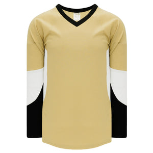 H6600-281 Vegas/Black/White League Style Blank Hockey Jerseys