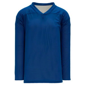 H686-206 Royal/White Blank Reversible Practice Jerseys