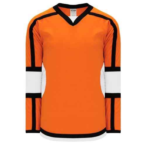 H7000-330 Orange/White/Black League Style Blank Hockey Jerseys